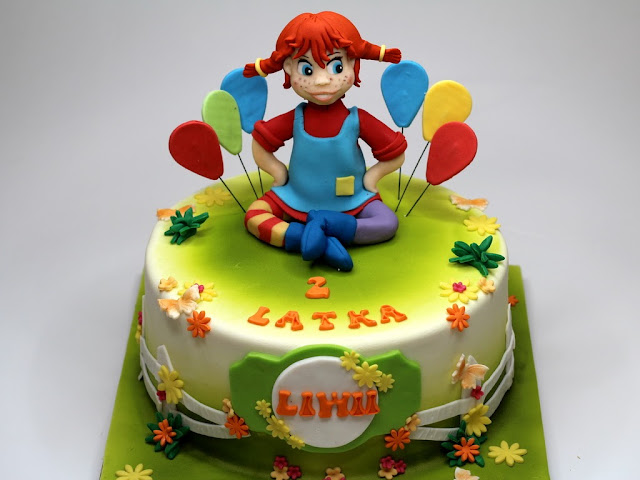 Pippi Longstocking - Birthday Cake in London