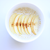 Porridge with apple and cinnamon