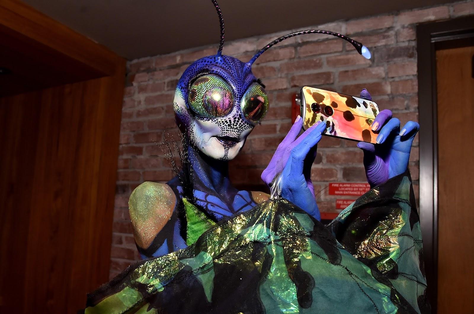 At Heidi Klum's Halloween Party
