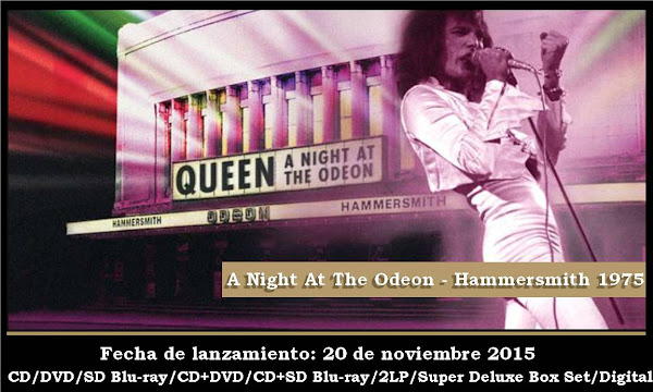 "20 DE NOVIEMBRE ""QUEEN A NIGHT AT THE ODEON""!"