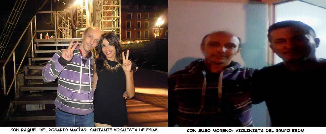 Con La Princesa y Suso Moreno