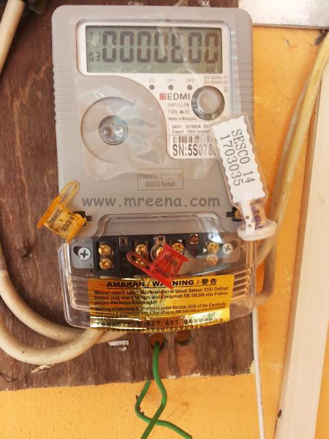Meter Elektrik Baru