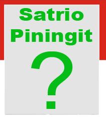 Satrio Piningit?