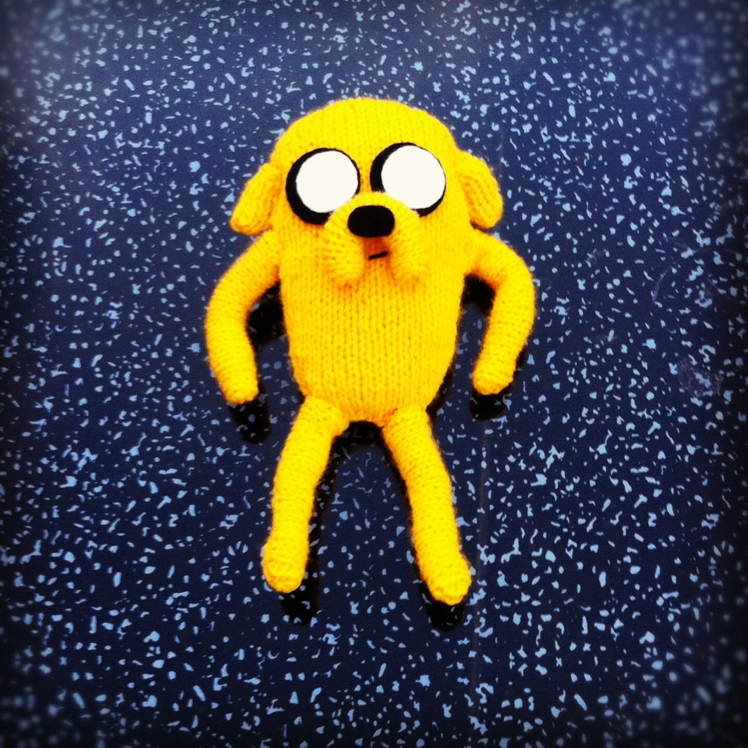 Adventure Time Knitting Patterns : SINCERELY LOUISE: What Ive Been Knitting - Adventure Time