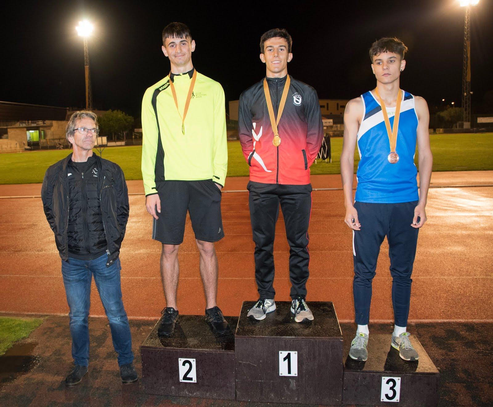 Campió de Catalunya Sub18 200 m.ll. 2019