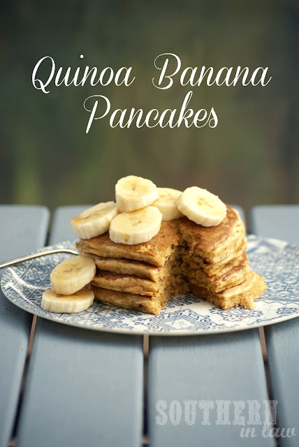 Wholewheat Banana Pancake Recipe with Quinoa