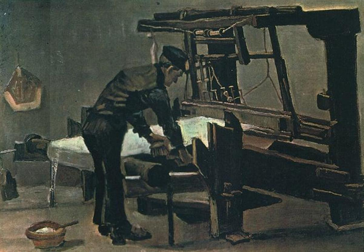 Weaver Standing in Front of a Loom by Vincent van Gogh alternate image
