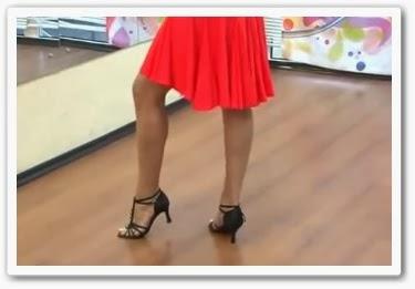 онлайн видеоурок Как танцевать ча-ча-ча