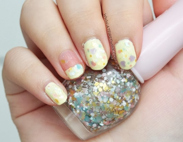 Etude House nail polish WH901 - Cotton candy kiss