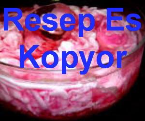 Resep Es Kopyor Agar Agar Spesial Segar