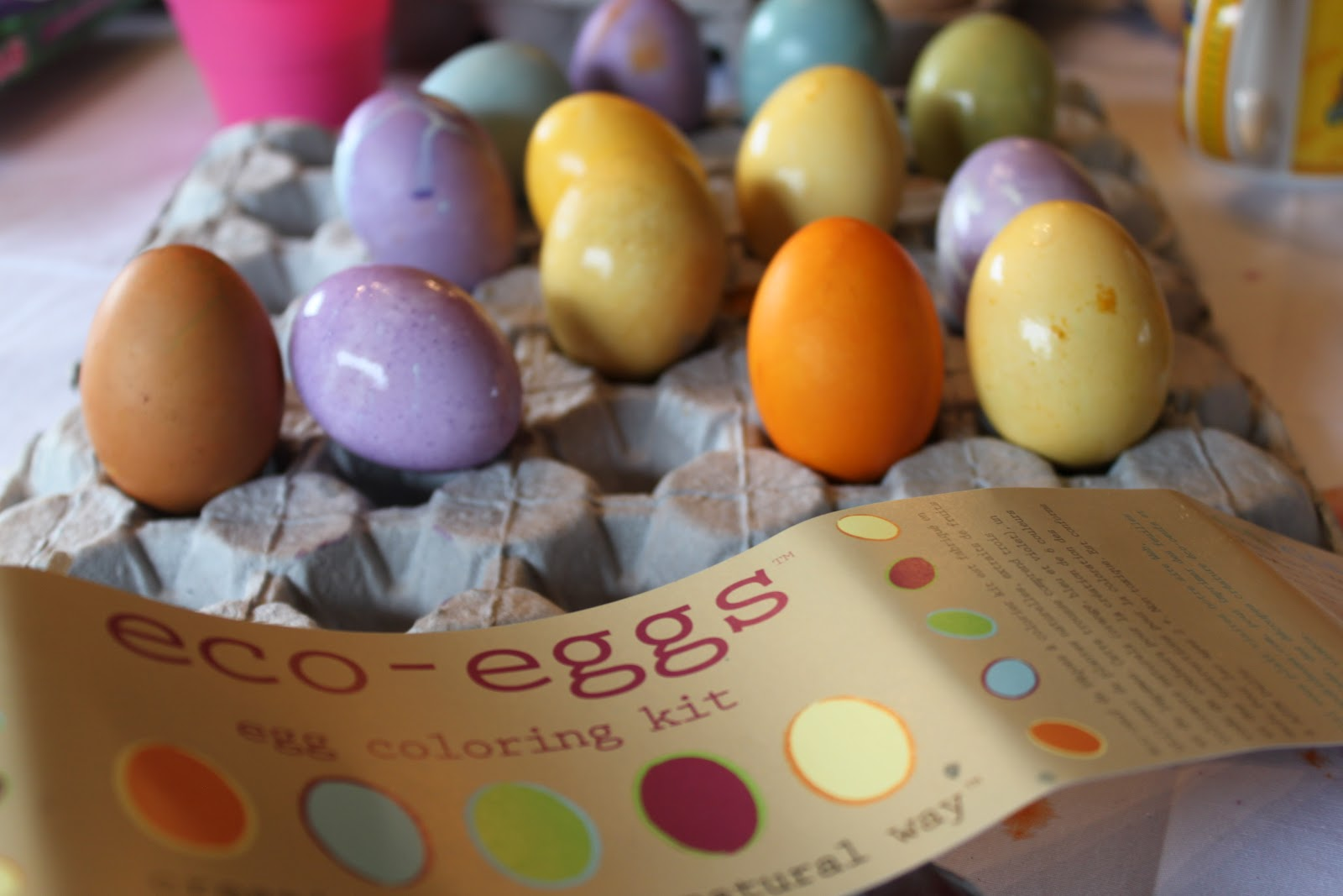 Green Owl Art: eco-eggs egg coloring kit- product review