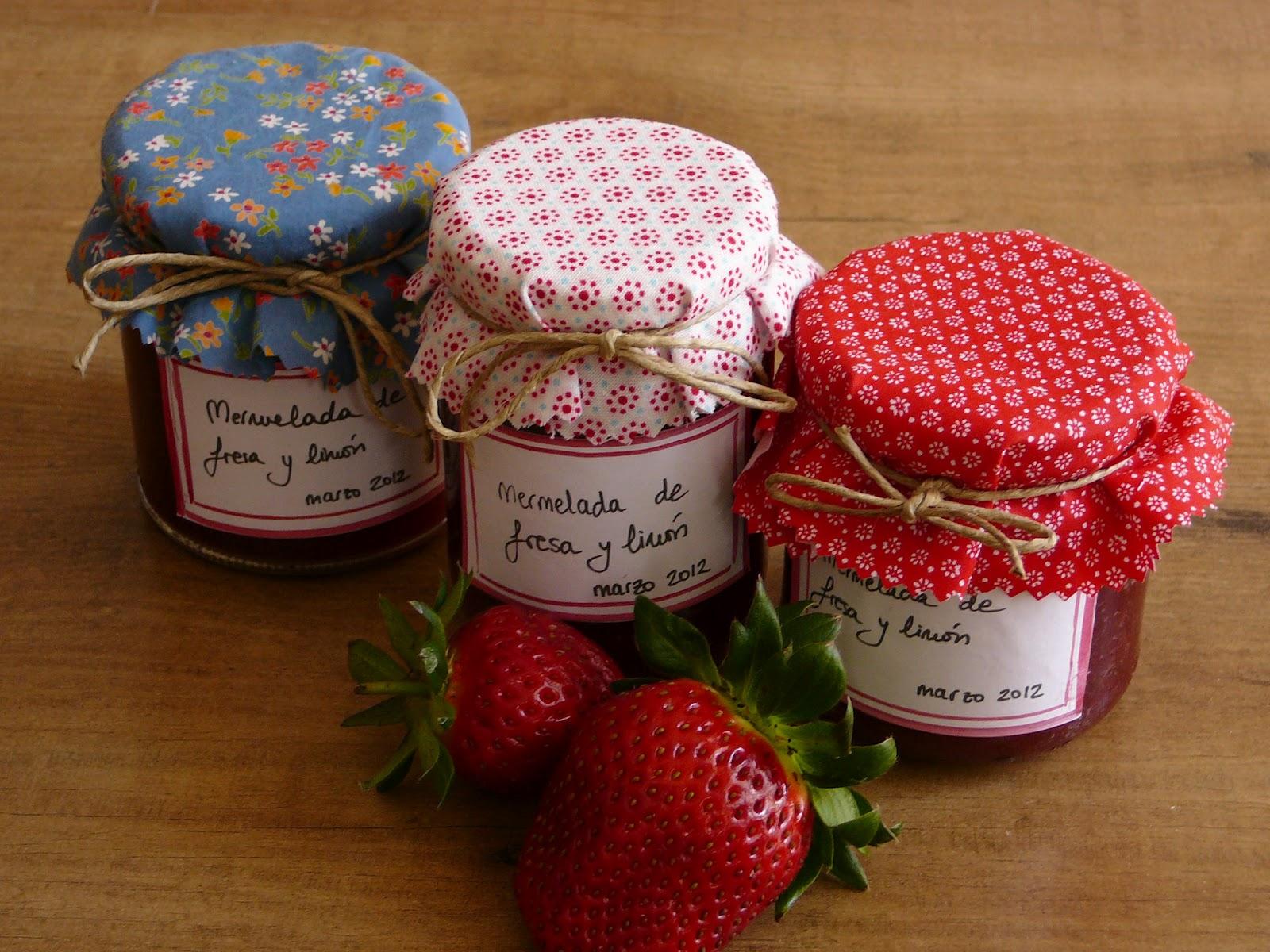 La tricoteca mermelada de fresa - Como hacer zumo de fresa ...