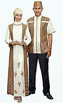 Gambar Baju Muslim Sarimbit Terbaik 2015