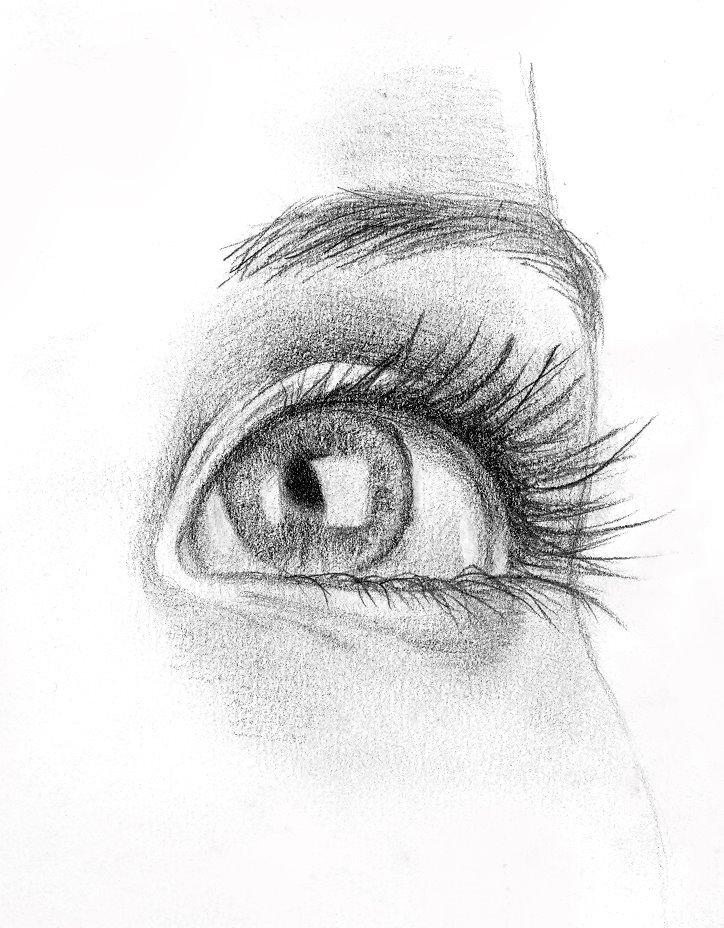 grafito ojo