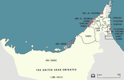 United Arab Emirates Tourist 2012