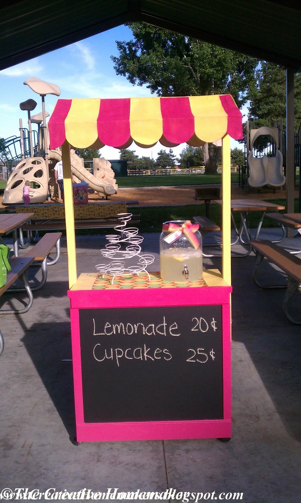 the creative homemaker alia 39 s lemonade stand. Black Bedroom Furniture Sets. Home Design Ideas