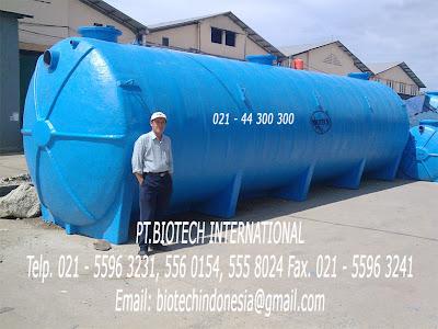 septic tank biotech | stp Biotek | toilet portable fibreglass