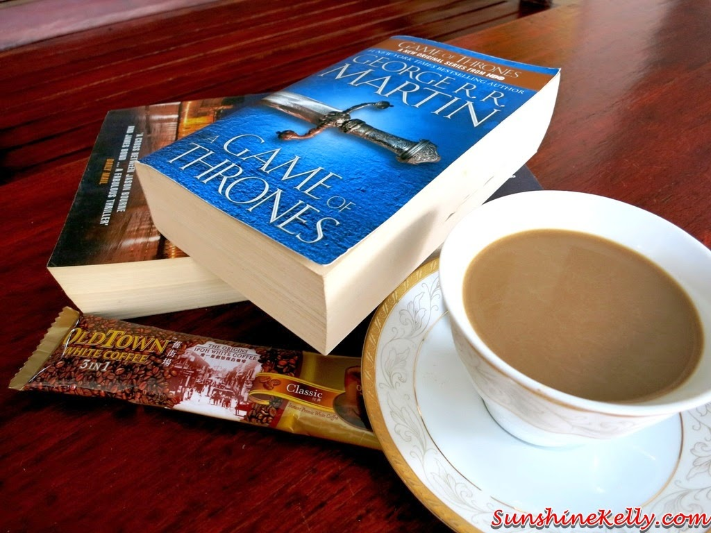 Life Simple Pleasures with White Coffee, OLDTOWN White Coffee, white coffee, coffee, OLDTOWN 3in1 White Coffee, book & coffee, morning coffee, instant coffee, 3 in 1 coffee