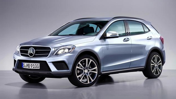 Mercedes GLA celebrates its world premiere in April 2013