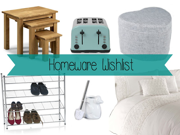 Wish, Want, Need: Homeware