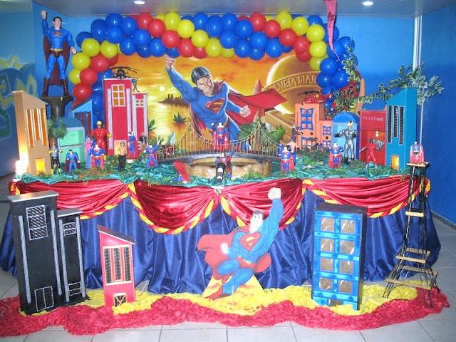 Tema infantil - Super Man