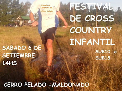 Festival de cross country infantil (Cerro Pelado, Maldonado, 06/sep/2014)