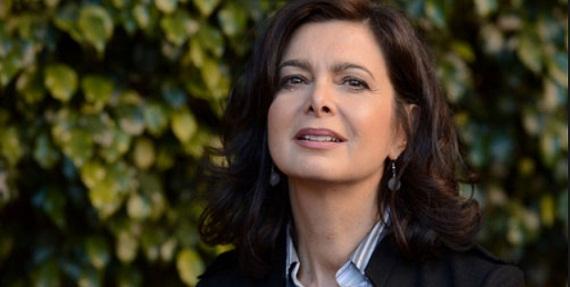 Laura Boldrini nuda