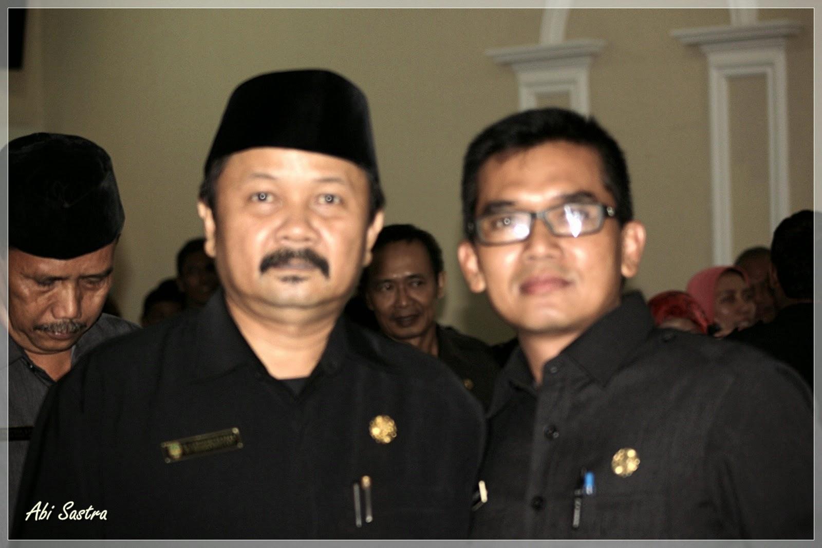 H. Entis Diat Tisman Wibawa & Dr. Oman Surahman