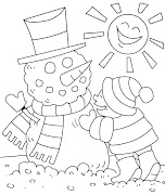 . for your children to color at home and review winter clothes and winter .