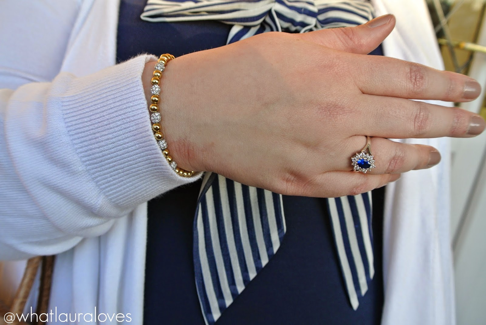 Michael Kors Beaded Bracelet and Harry Fay Amirra Ring Review