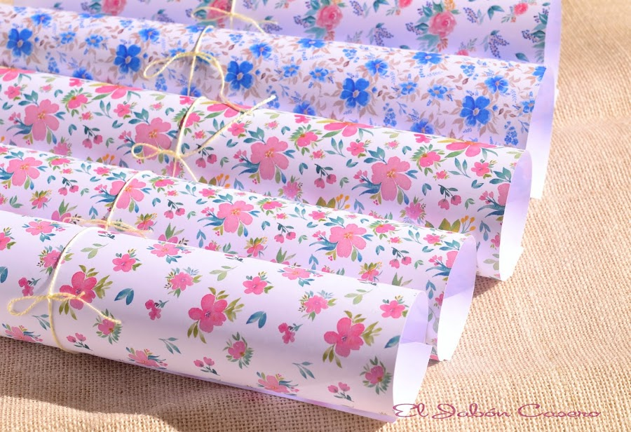 papeles bonitos para decorar jabones detalles de boda
