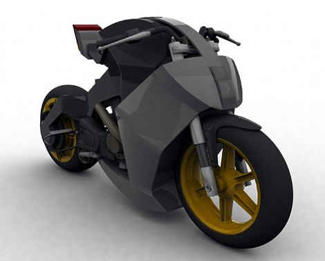 Future V-Twin Motorcycle
