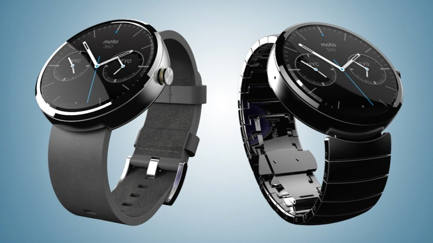 Google Reveal Moto 360 Wrist Watch by Android Wear