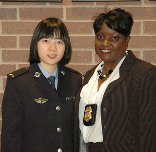 A detective is paired with a ZPC cadet.