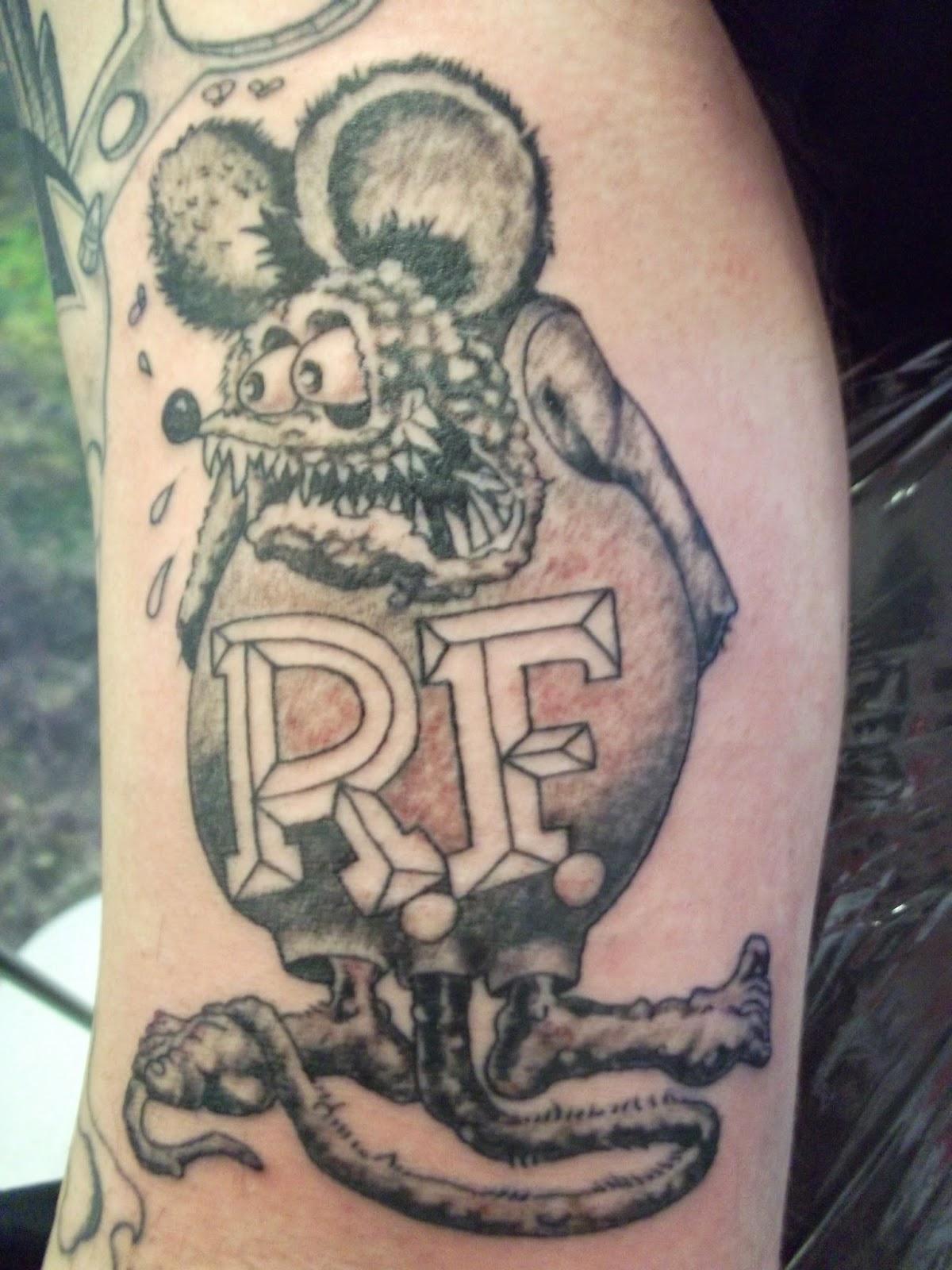 Ed Roth Tattoos