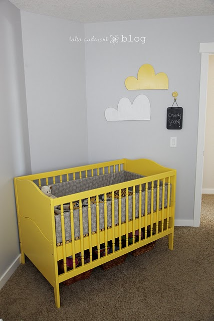 Grey Yellow Nursery Crush Nooshloves