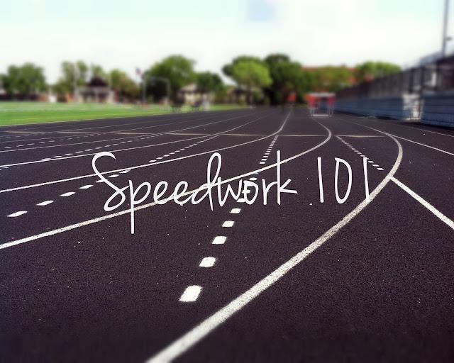 Speedwork 101 for runners