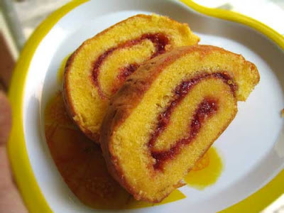 Resep Kue Bolu Gulung Buttercream