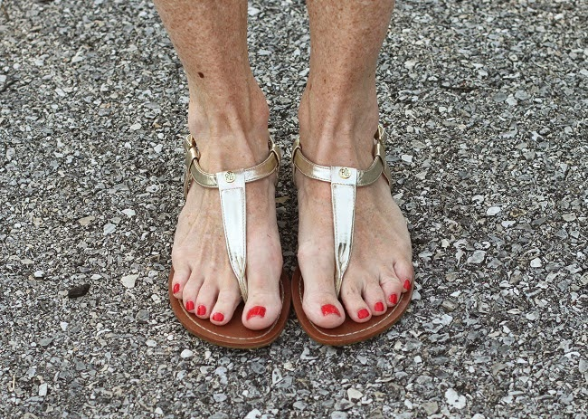 ralph-lauren-gold-sandals