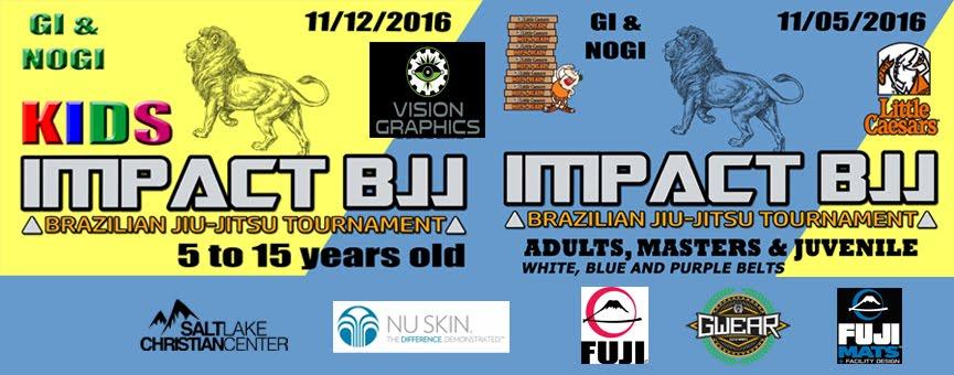 IMPACT BJJ TOURNAMENT - UTAH