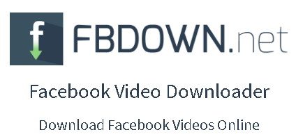 cara download video di facebook dengan fbdown