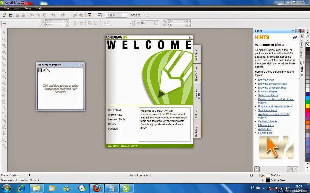 download corel draw x5 for windows 7