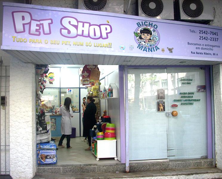 Extremamente Bicho Mania - Pet Shop Copacabana RJ | cachorroidealoficial LH06