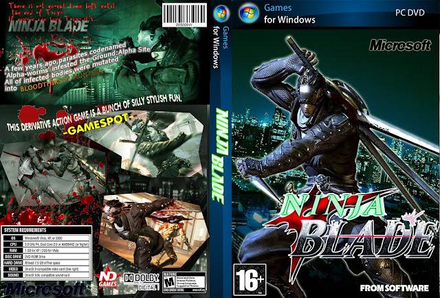 تحميل لعبة Ninja Blade برابط واحد مباشر