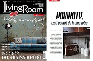 nasz artykuł o stylu Retro w Living Room