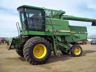 John Deere 6620 combine parts