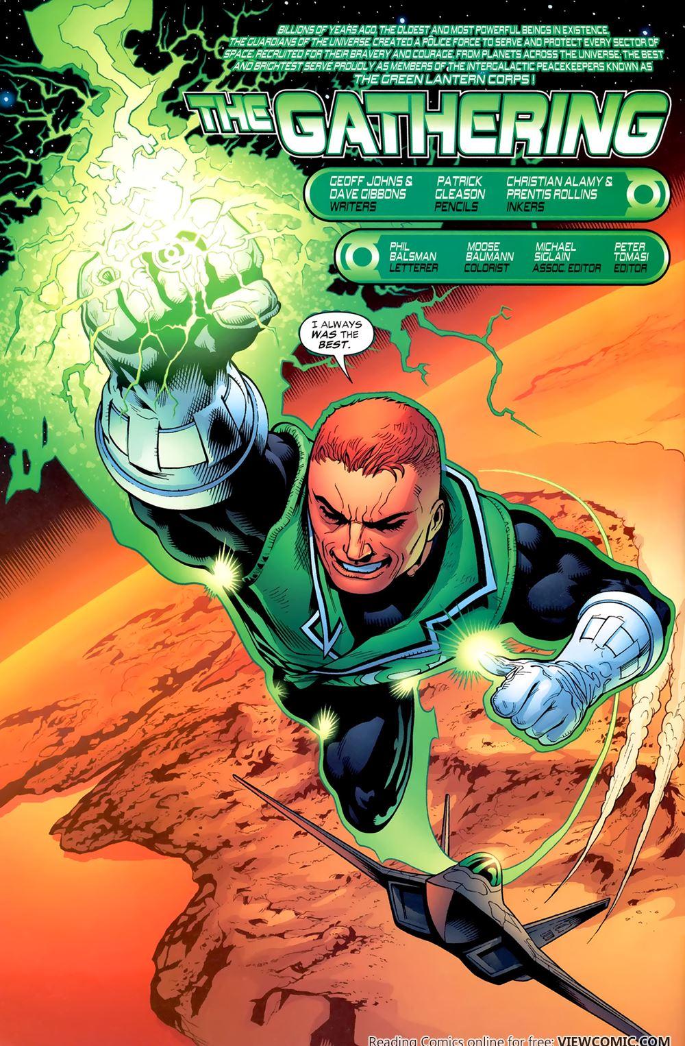 green lantern corps recharge 01 of 5 2005 reading comics