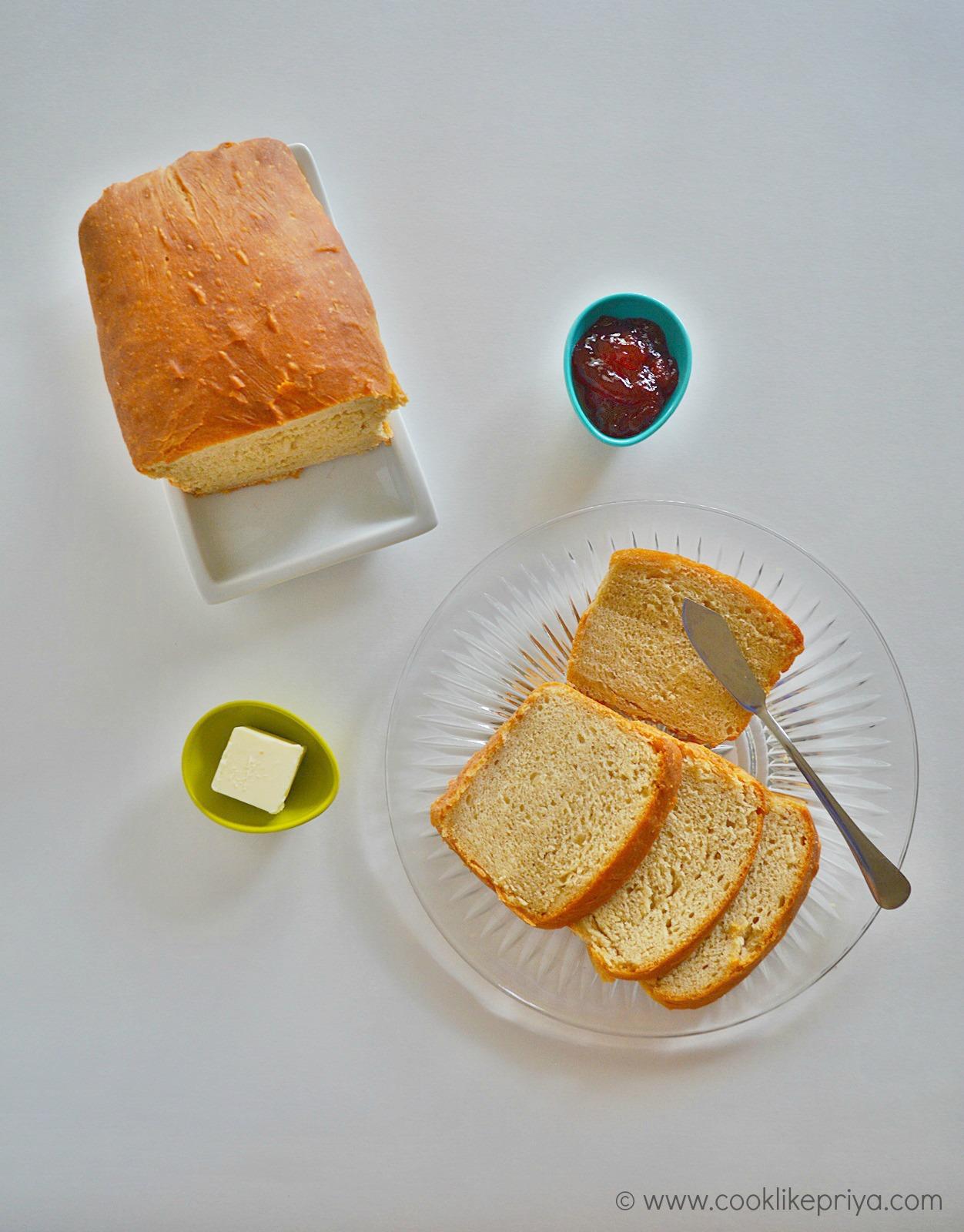Soft homemade bread