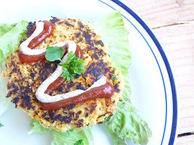 Gluten Free Mascara on Gluten Free  Vegan Millet Burgers