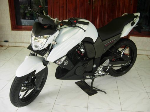 Modif Yamaha Bison Biru
